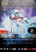 The Final of FIM Speedway U-21 World Championship (22.07.2018) official programme