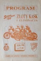 The Golden Helmet speedway tournament - I Round (Bydgoszcz, 24.04.1990)