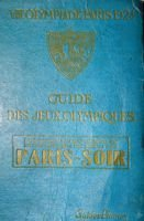 The Guide of VIII Olympic Games Paris 1924