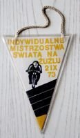 The Individual Speedway World Championships Final (Chorzow, 02.09.1973) pennant