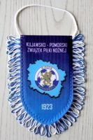 The Kuyavian-Pomeranian Football Association pennant (original product)