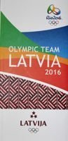 The Latvia National Team of Summer Olympic Games Rio 2016