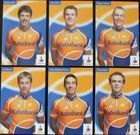 The Rabobank Cycling Team (set of 6 postcards)