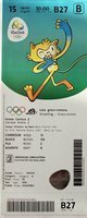 The Summer Olympic Games Rio de Janeiro 2016 wrestling Greco-Roman style ticket (15.08)