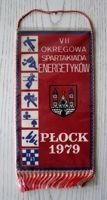 The VII District Athletic Meeting of Power Engineers Plock 1979 pennant