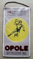 The XIII Handball Tournament of Opolian Silesia Release Cup pennant (1982)