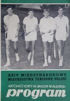 The XXIV International Tennis Poland Championships (1969)