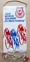 The XXVI Lodz Province Cycling Race pennant (1988)