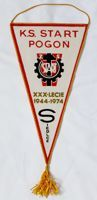 The XXXth Anniversary of KS Start Pogon Siedlce (1974) pennant