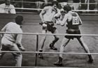 The XXth European Boxing Championships Belgrad 1973. Final fight of light weight Tomczyk - Cutov