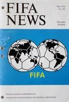 The monthly magazine FIFA News nr 192 (May 1979)