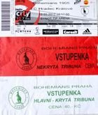 Three tickets of Bohemians Prague matches