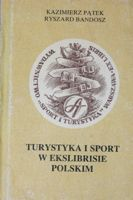 Touristic and sport in Polish bookplate