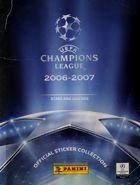 UEFA Champions League 2006-2007 Official Licensed Sticker Panini Album