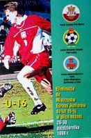 UEFA European Under-16 Championship qualifying tournament group 12 programme (26-30.10.1998)