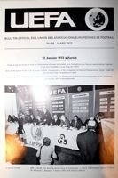 UEFA Official Bulletin nr 58 March 1972