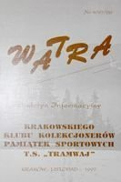 """Watra"" - Bulletin of Sport Collectors Association TS Tramwaj nr 4(20)/1997"