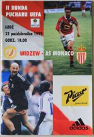 Widzew Lodz - AS Monaco (21.10.1999) - Official programme of UEFA Cup second round match