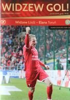 Widzew Lodz - Elana Torun II league (23.03.2019) official programme