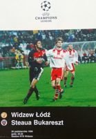 Widzew Łódź - Steaua Bucharest Champions League (30.10.1996)
