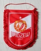 Widzew Lodz pennant (official product)