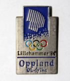 Winter Olympic Games Lillehammer 1994 logo (official product; with signature)