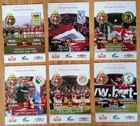 Wisla Cracow Ekstraklasa official match programmes (Spring 2007)