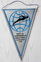 World Ski Championships Nordic Events 1970 pennant