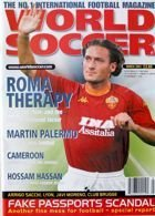 World Soccer Monthly Magazine (March 2001) + photo
