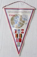 World and European Ice Hockey Championship Prague 1978 pennant