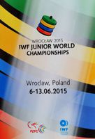 Wroclaw 2015 IWF Junior World Weightlifting Championship official programme