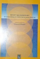 Youth sport in psychological studies