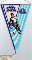 ZKS Stal Rzeszow - football section, Poland, pennant