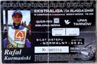 ZKZ Zielona Gora - Unia Tarnow (06.06.2004) Polish speedway league ticket