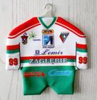 Zaglebie Sosnowiec ice hockey team mini t-shirt car hanger
