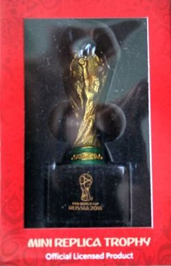 Mini Replica World Cup 2018 Trophy (Official Licensed Product)