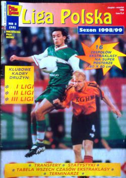 Polish Leagues Fans Guide (Pilka Nozna weekly magazine) - Season 1998/1999
