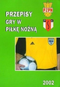 The rules of football, soccer (Polish Football Federation)