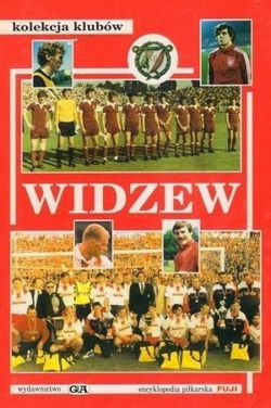 Widzew Lodz and old football clubs from Lodz (FUJI Football Encyclopedia, clubs collection)