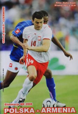 Poland - Armenia (28.03.2007) - Official matchday programme Euro 2008 qualification