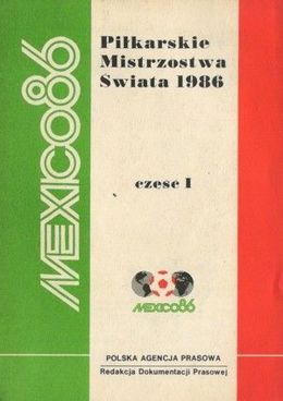 World Cup Mexico 1986 report (volume I)